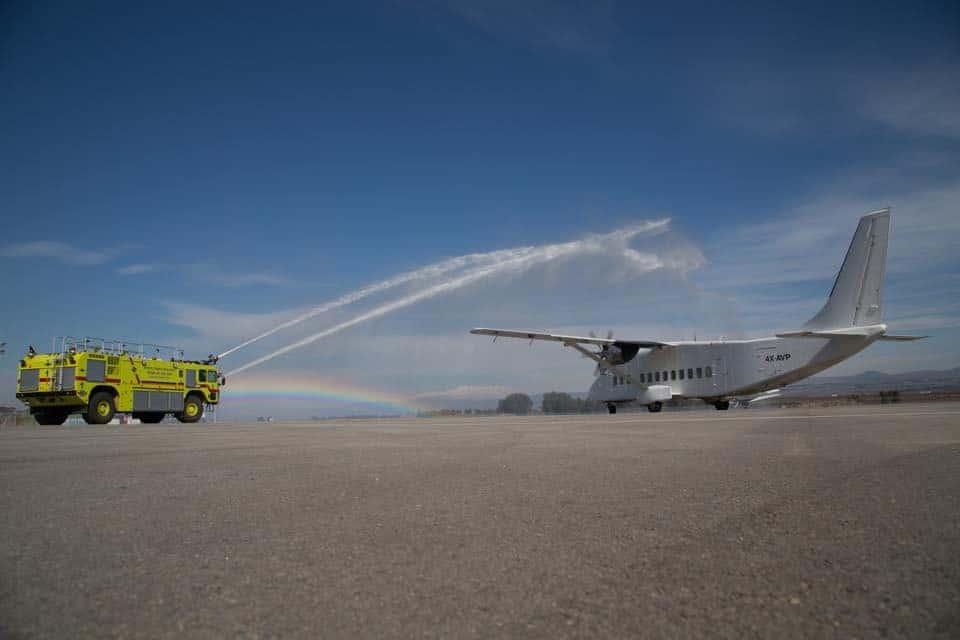, פתיחת שדה התעופה ראש פינה תלמה נסיעות ותיירות בשיתוף עיט