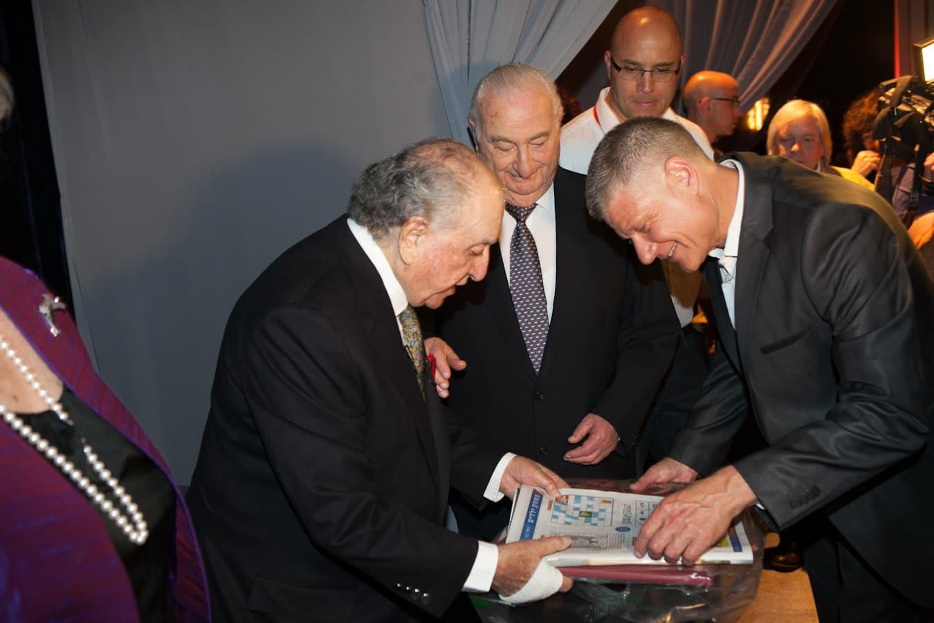 , הפקת אירוע יום הולדת לדוד עזריאלי